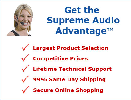 Get the Supreme Audio Advantage!