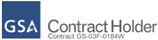GSA Contract #GS-03F-0184W. GSA Pricing Available Now on selected items!